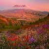 Mt St Helens Twilight Cavern -  Mount St Helens National Volcanic Monument, Washington