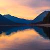 Lake Cushman Mirror - Lake Cushman State Park, Hoodsport, Washington