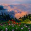 Top Of Pinnacle Peak Saddle_Mount Rainier National Park_Washington