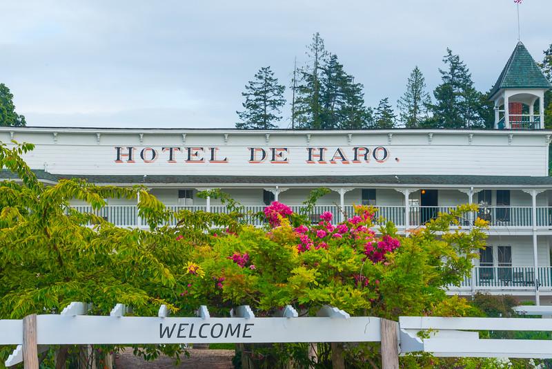 The Long Standing Hotel De Haro - Roche Harbor, Friday Harbor, San Juan Islands, WA