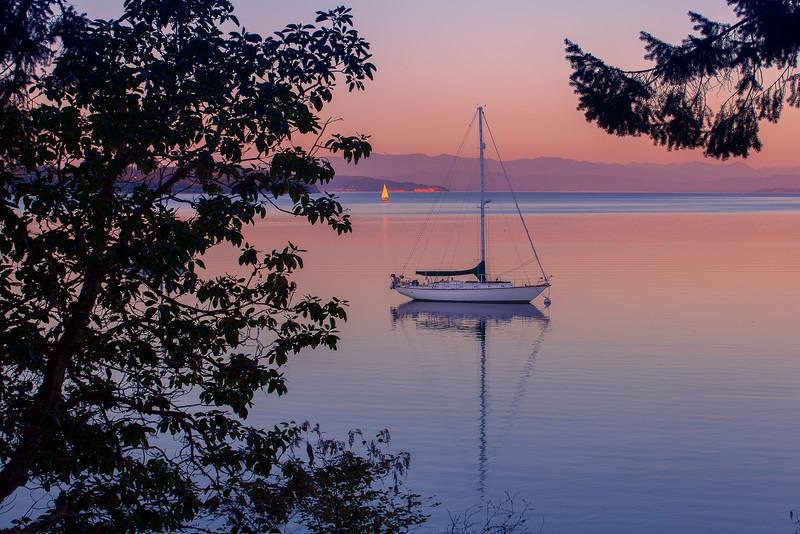 Silence Of A Sunset - Anacortes, WA