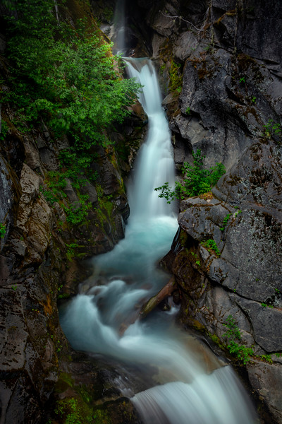 Upper Christine Falls - Mount Rainier National Park, WA