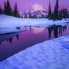 Tipsoo Lake Under Purple Twilight