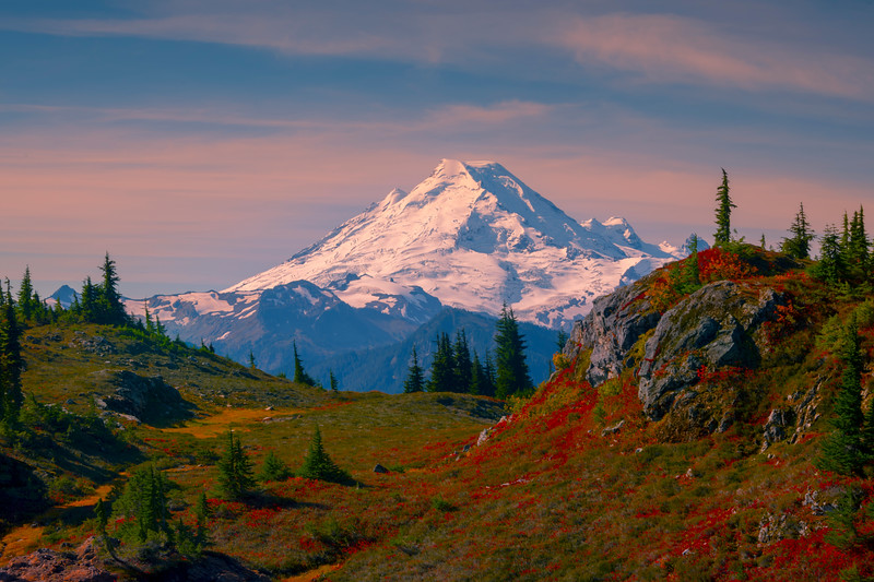 Mt Baker In All Its Glory - North Cascades National Park, WA