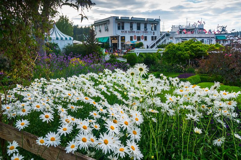 Summer Decorations - Roche Harbor, Friday Harbor, San Juan Islands, WA