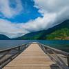 Lake Crescent Swimming Dock - Lake Crescent, Olympic National Park, WA