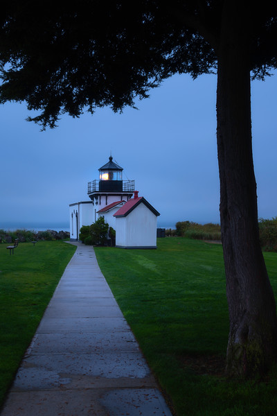 Point No Point Lighthouse Before Sunrise