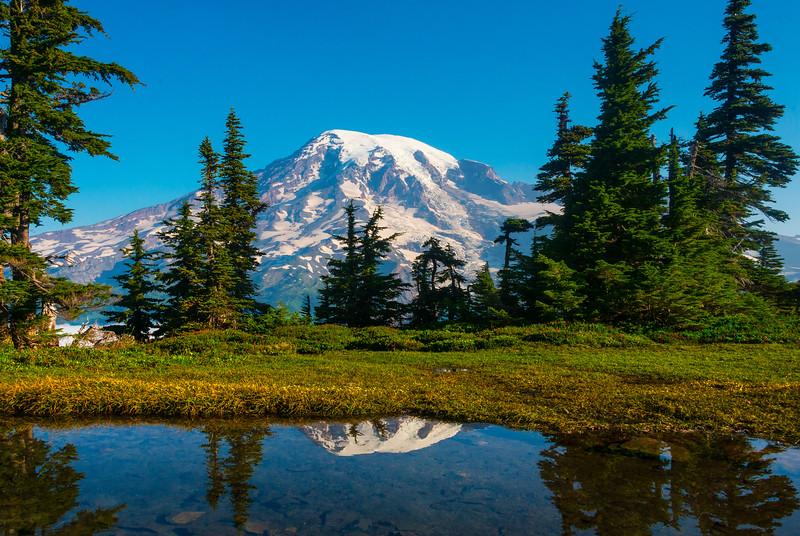 Pinnacle PeakTarn_Mount Rainier National Park_Washington