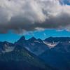 Surrounding Peaks Around Mt Rainier - Mt Rainier National Park, WA