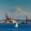 Sailing Around Seattle - Seattle Waterfront - Seattle, WA