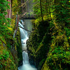 Sol Duc Falls From Distant Ledge Sol Duc Falls, Olympic National Park, WA