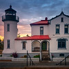 Admirality Lighthouse At Sunset