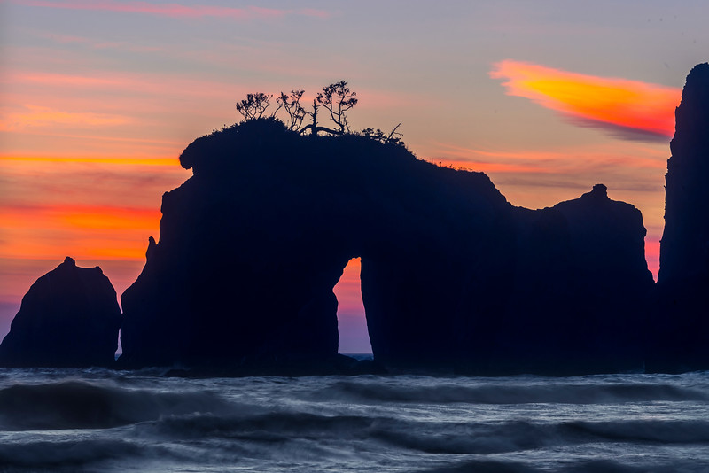 The Hole In The Wall - Olympic Peninsula, Washington