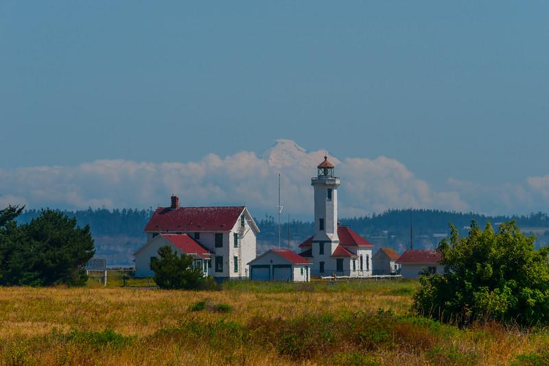 Port Wilson Lighthouse And Mt Baker - Port Townsend, WA