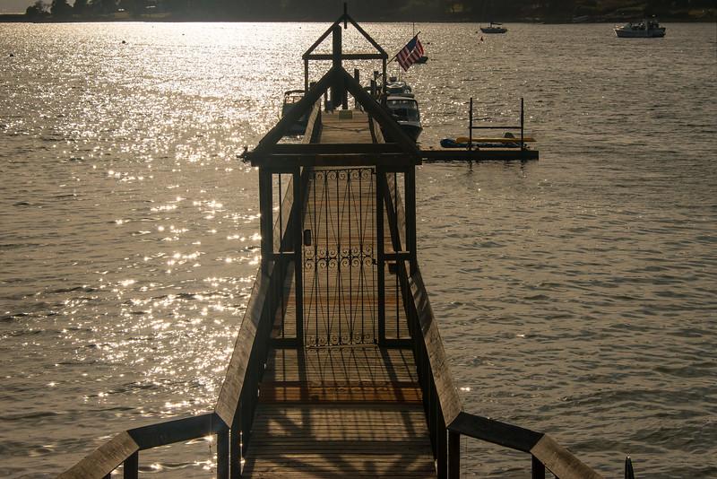 The Many Docks Of Lopez Island - San Juan Islands, WA