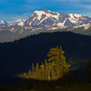 Spotlight - Skyline Divide, Mount Baker, North Cascades National Park, WA