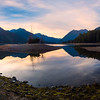 Lake Cushman Panorama - Lake Cushman State Park, Hoodsport, Washington