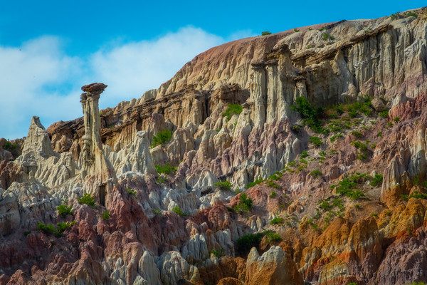 Texture Heaven In The Hoodoos - Casper, Wyoming