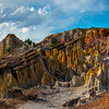 All Shades Of Reds In The Hoodoos - Casper, Wyoming