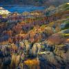 Rainbow Arrangement Of Hoodoos - Casper, Wyoming