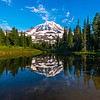 Spray Park Reflections - Spray Park,  Mount Rainier National Park, Washington