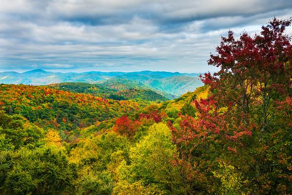 The Blue Ridge Parkway - Great Smoky Mountain Region, North Carolina_11