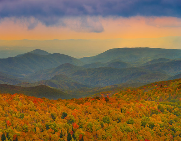 The Blue Ridge Parkway - Great Smoky Mountain Region, North Carolina