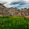 Spring Greens And Hoodoos - Theodore Roosevelt National Park, North Dakota