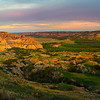 Pano Of Theodore Roosevelt Overlook - Theodore Roosevelt National Park, North Dakota