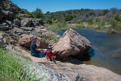 Inks Lake Hiking