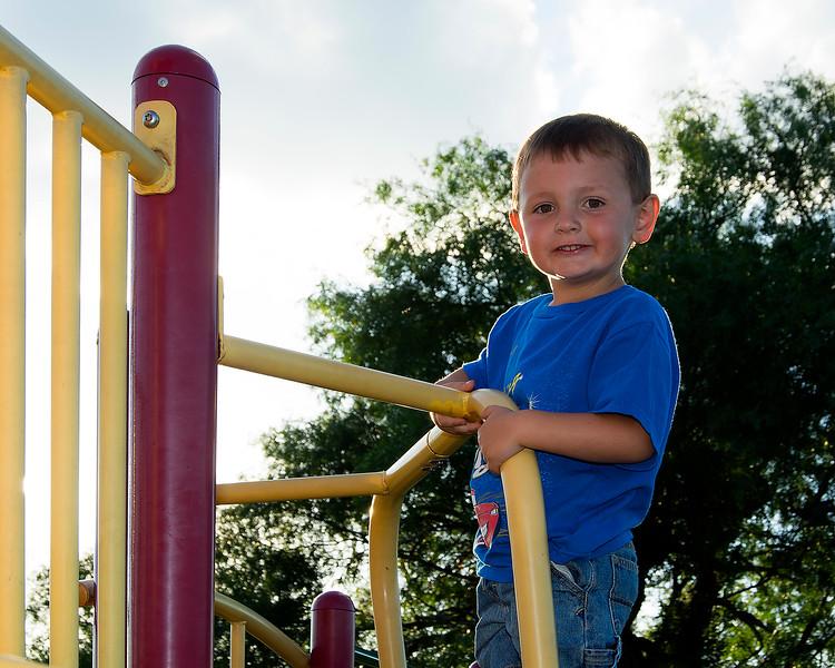 Travis at the Playground
