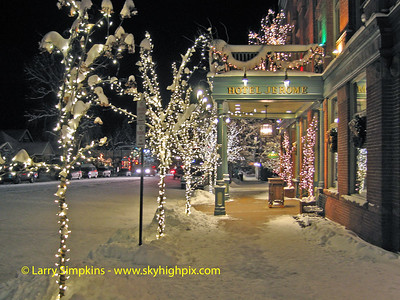 Hotel Jerome, Aspen, Colorado. December 2008, Image# 035