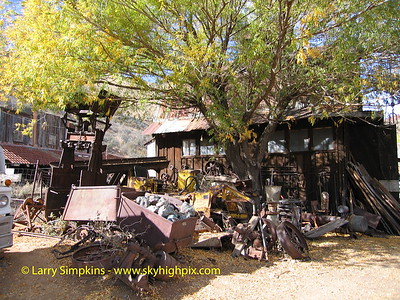 Ghost town, Jerome, AZ. November 2007. Image# 014