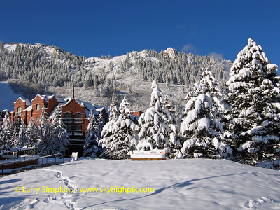 St Regis Resort, Aspen, Colorado. December 2008. Image# 068