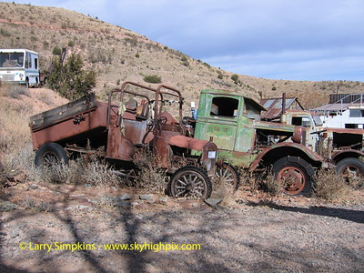 Ghost town, Jerome, AZ. November 2007. Image# 015