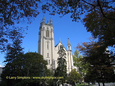Convent of St Elizabeth, Morristown, NJ. October 2008. Image# 004