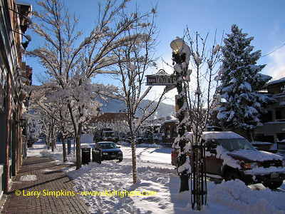 Aspen, Colorado. December 2008. Image# 054