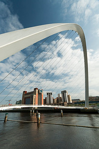 Millenium Bridge Over the River Tyne