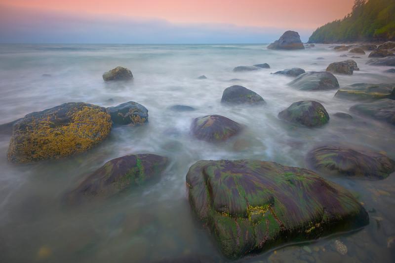 Mystic Beach Bowling Balls - Mystic Beach, Juan De Fuca Marine Trail, Vancouver Island, BC, Canada