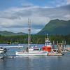Hub Of Action In Clayoquot Sound Tofino Wharf, Tofino, Vancouver Island, BC, Canada