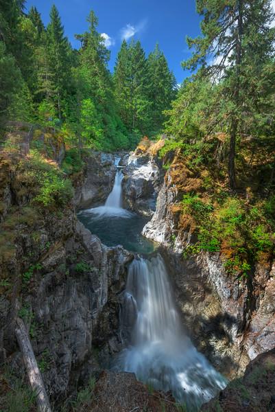 Little Qualicum Falls Little Qualicum Falls Provincial Park, Nanaimo, Vancouver Island, Bc, Canada
