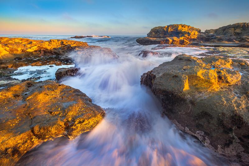 Crashing Waves At Botany Bay - Botany Bay, Botanical Beach, Juan De Fuca Trail, Vancouver Island, BC, Canada