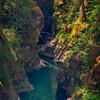 The Little Qualicum Gorge Little Qualicum Falls Provincial Park, Nanaimo, Vancouver Island, Bc, Canada
