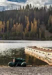 Float Tube Olive Lake