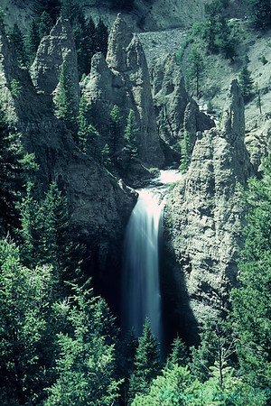 Tower Falls, Yellowstone National Park, Wyoming