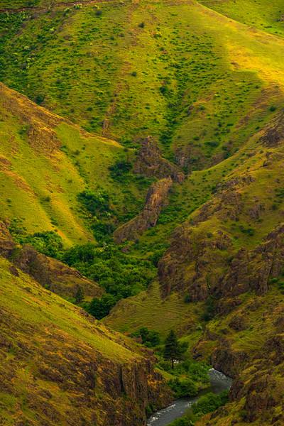 Deep Inside The Canyon Wallowa County, Oregon