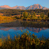 The mirror-like reflections of Patricia Lake from Jasper National Park