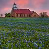Art Church At Sunset_Vertical