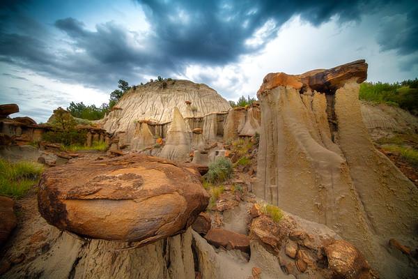 A Jurasssic World - Makoshika State Park, Glendive, Eastern Montana