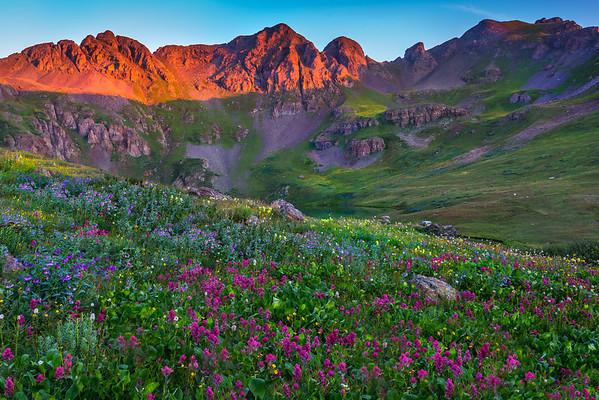 Just Over The Horizon She Lies - San Juan Mountains, Colorado